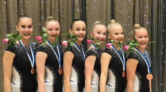 Elise -Vantaalle SM-mitalit ensi kertaa joukkuekilpailussa